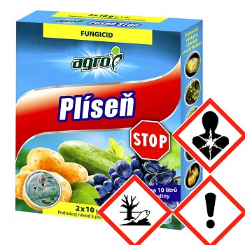 AGRO PLÍSEŇ STOP 2 x 10 g