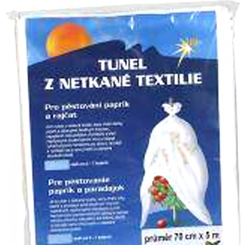 NEOTEX TUNEL Z BÍLÉ NETKANÉ TEXTILIE 70 cm x 5 m