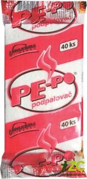 PE-PO PODPALOVAČ PEVNÝ - 40 PODPALŮ