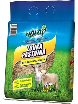 AGRO TRAVNÍ SMĚS LOUKA A PASTVINA 2KG