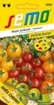 SEMO Rajče tyč. cherry - směs barev 10s - série PALETA