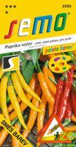SEMO Paprika zel. pálivá chilli - směs barev 0,4g - série PALETA /SHU 50 000/