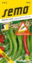 SEMO Paprika zel. pálivá - Pálivec rychl, pole 0,6g /SHU 1 000/