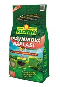 FLORIA TRÁVNÍKOVÁ NÁPLAST 3 in 1 1KG