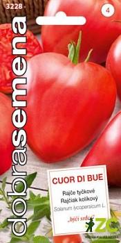 Dobrá semena Rajče tyč. - Cuor di Bue (Býčí srdce) 50s